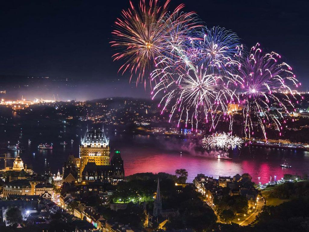 City of Quebec New Years Eve 2021