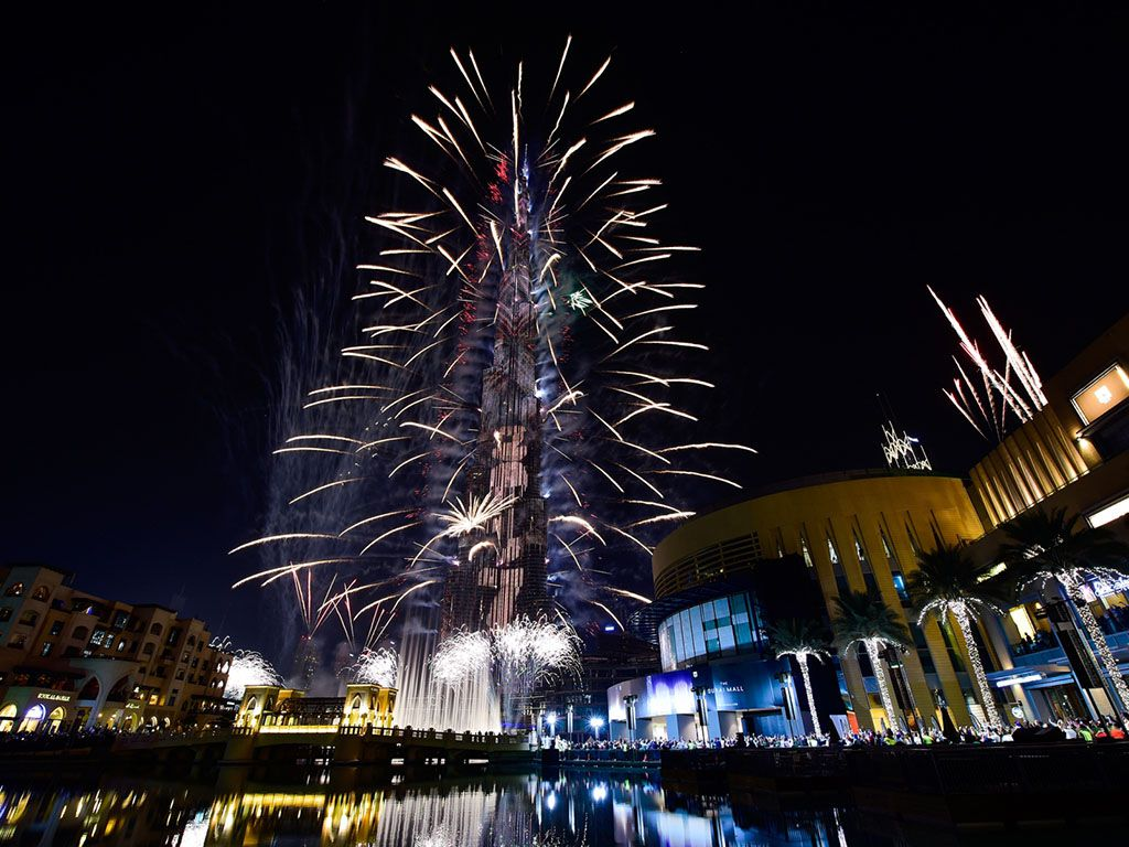 Dubai New Years Eve 2021