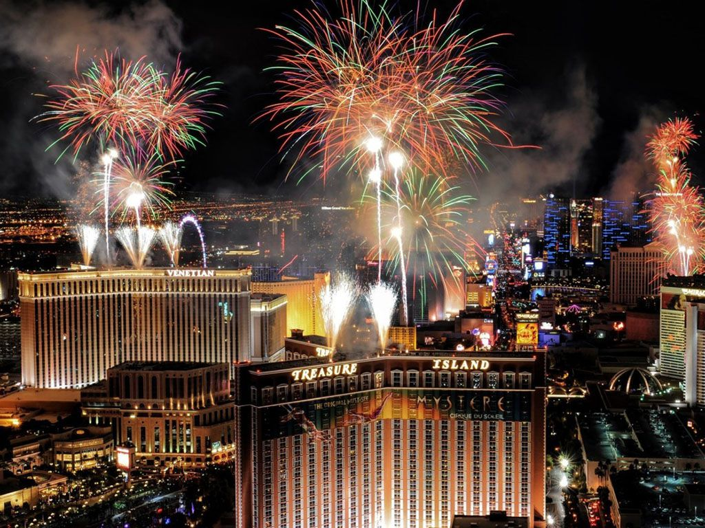 Las Vegas New Years Eve 2021