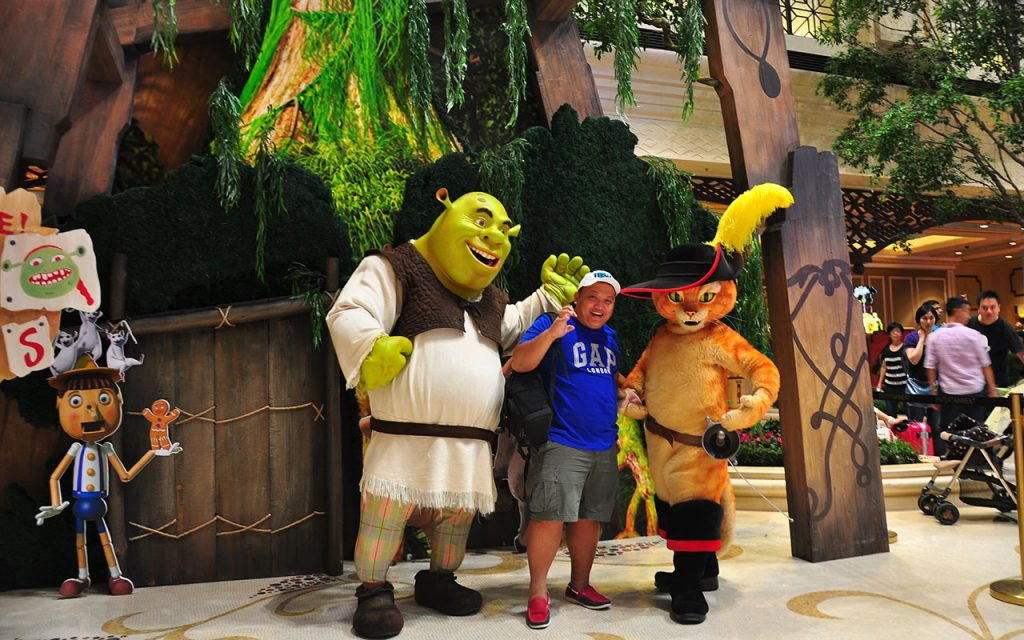 DreamWorks Experience at Cotai Strip Resorts, Macau