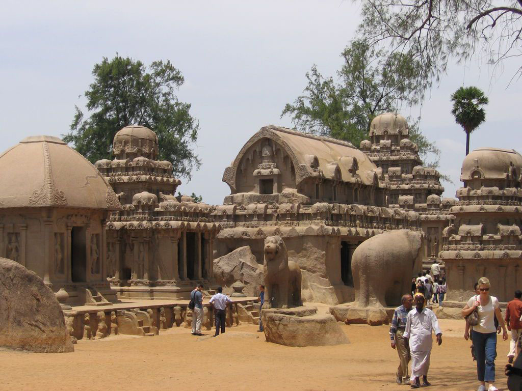 Pancha Rathas, India
