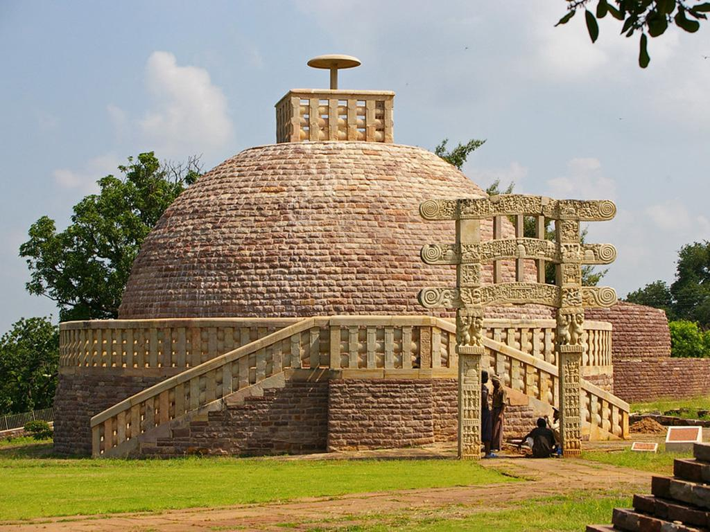 Sanchi Stupa - Most Famous Archaeological Site in India