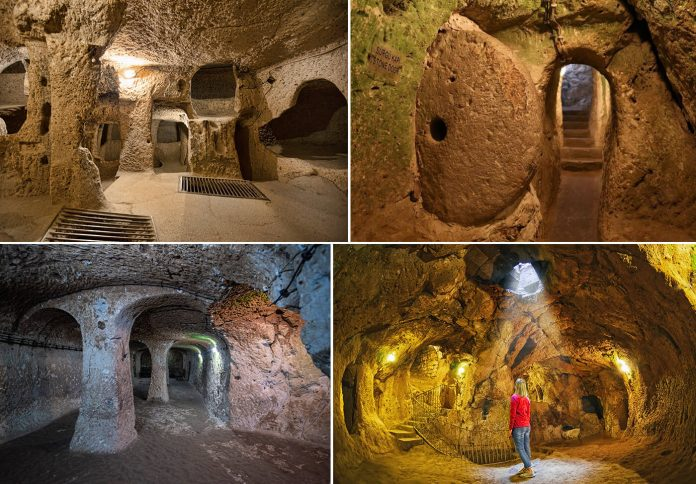 Massive Underground City Found in Cappadocia Region of Turkey